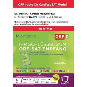 ORF irdeto CI+ Cardless SAT Modul mit ORF Digital Direkt