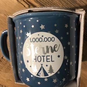 Lieblingsbecher »1.000.000 Sterne Hotel«