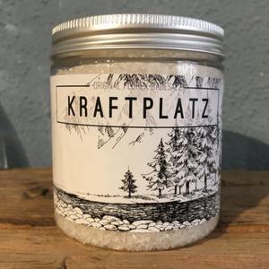 """Badesalz 300g in der Dose """"Kraftplatz"""", Edelweiß"""