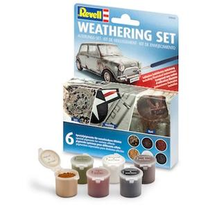Revell-Weathering Set (6 Pigmente)