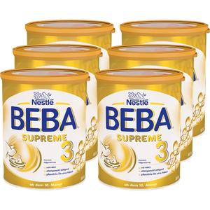 Nestlé BEBA SUPREME 3 (6 x 800g)