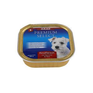 ARAS Premium Select - Rindfleisch, Gemüse & Reis - 195g Schale