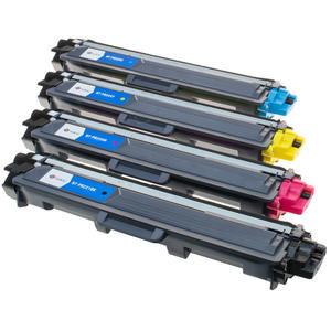 Set Brother kompatible Tonerkartuschen TN241 / TN242 / TN245 / TN246 black+cyan+magenta+yellow TN-241 TN-242 TN-245 TN-246