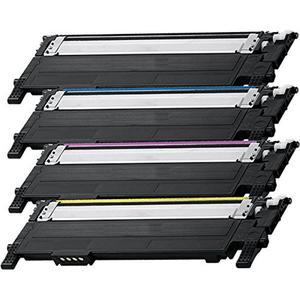 Samsung kompatible Tonerkartusche CLT-K406S, CLT-C406S, CLT-M406S, CLT-Y406S, black, cyan, mangenta und yellow