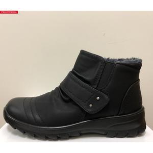 Damen Wetterfester Stiefelette schwarz, sicher und warm durch den Winter! PRONTO MODA - Variante