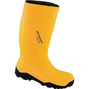 Dunlop Sicherheitsstiefel Purofort+ Full Safety Größe 41 gelb S5 CI SRC EN ISO 20345 Polyurethan