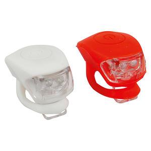 LED-Leuchten-Set 2-tlg., Silikon