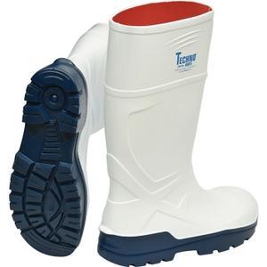 TECHNO BOOTS Stiefel Vitan Größe 43 weiß S4 CI SRC EN ISO 20345 Polyurethan