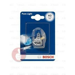 BOSCH Glühlampe, Fernscheinwerfer 55W, 12V, H3