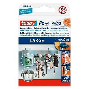 Tesa Powerstrips Selbstklebestrip Large, 10 Stk.