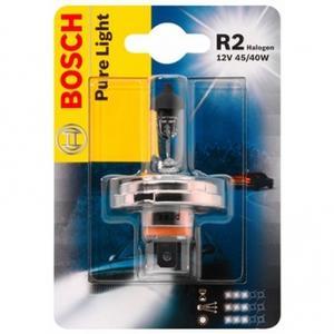BOSCH Glühlampe, Fernscheinwerfer R2 12V/45/40W Halogen