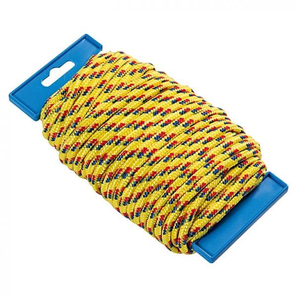 Seil Polypropylen 25 m, Polypropylen, Durchmesser: 5 mm