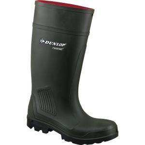 Dunlop Sicherheitsstiefel Purofort Full Safety Größe 43 oliv S5 CI SRA EN ISO 20345 Polyurethan