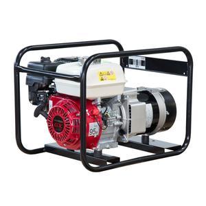 Elmag Stromerzeuger SEB 3300W-AVR mit HONDA-Motor GX200 und AVR-Regelung 53190