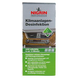 Nigrin Performance Klimaanlagen-Desinfektion 150 ml, Inhalt ausreichend für ca.: 1 Anwendung