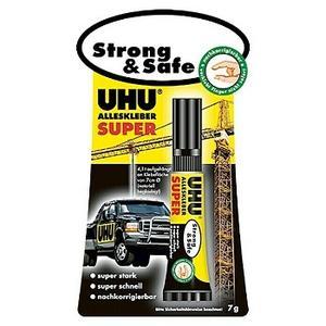 UHU Alleskleber Super Strong & Safe, 7g, Tube