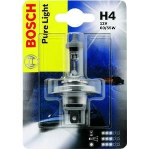 BOSCH Glühlampe, Fernscheinwerfer 60/55W, 12V, H4
