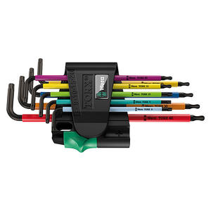 Wera Torx-Schlüsselsatz Multicolor 9-tlg., Größe: TX 8 - TX 40