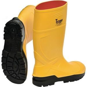 TECHNO BOOTS Sicherheitsstiefel Rönne Größe 44 gelb S5 CI SRC EN ISO 20345 Polyurethan