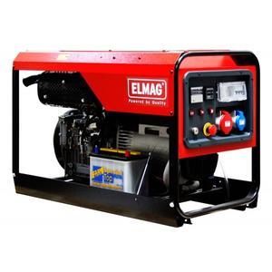 Elmag Stromerzeuger SED 14000WDE mit LOMBARDINI 12LD 477 Motor 53228