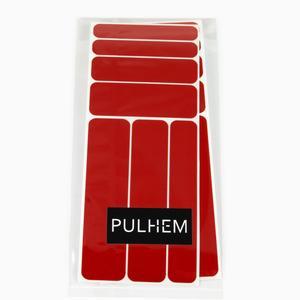 Pulhem reflektierendes Reflex-Aufkleber Set14 aus Reflexfolie rot