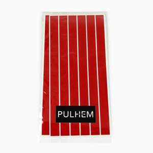 Pulhem reflektierende Reflex-Aufkleber 12 Stk. 15 cm x 10 mm Aufkleber aus Reflexfolie rot
