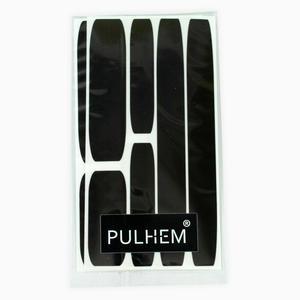 Pulhem reflektierendes Reflex-Aufkleber Set12 aus Reflexfolie schwarz