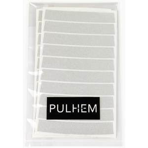 Pulhem reflektierende Reflex-Aufkleber 10mm weiß