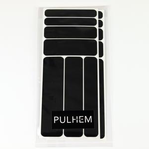 Pulhem reflektierendes Reflex-Aufkleber Set14 aus Reflexfolie schwarz