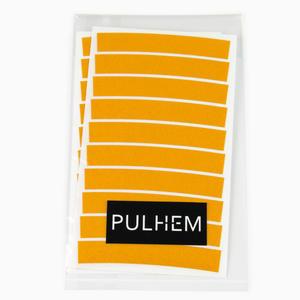 Pulhem reflektierende Reflex-Aufkleber 10mm gelb