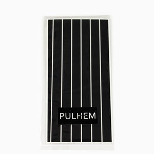 Pulhem reflektierende Reflex-Aufkleber 12 Stk. 15 cm x 10 mm aus Reflexfolie schwarz