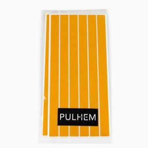 Pulhem reflektierende Reflex-Aufkleber 12 Stk. 15 cm x 10 mm aus Reflexfolie gelb