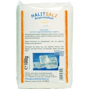 2 x Halit Kristall-Salz gemahlen 1000g