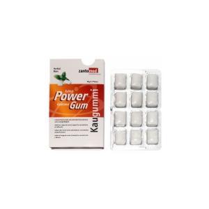 Power Kaugummi mit Xylit und Guarana 12x12 Stk/Box