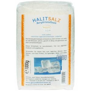 2 x Halit Kristall-Salz Granulat 1000g