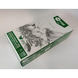 "L&R Sentina Latex Einweghandschuhe ""M"" 100 Stück/Box"