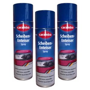 Caramba Scheiben Enteiser Spray 500ml (3 Stück)
