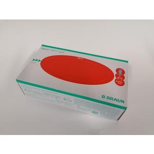 """Braun Nitril Einweghandschuhe """"L"""" (Blau) 100 Stück/Box"""