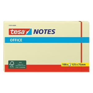 Tesa Office Notes 125mmx75mm gelb 100 Blatt