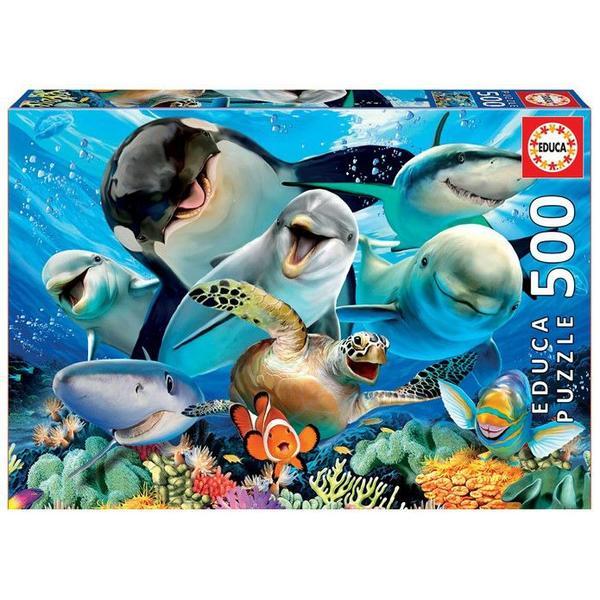 Underwater Selfies 500 Teile