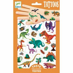 Tattoos - Dino Club