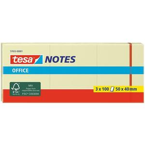 Tesa Office Notes 50x40mm gelb 3 x 100 Blatt