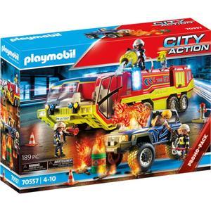 PM Feuerwehreinsatz mit Löschfahrzeug
