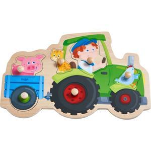 Greifpuzzle Lustige Traktorfahrt