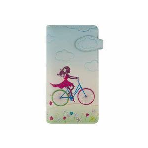 Langbörse nM Bicycle Girl hellblau