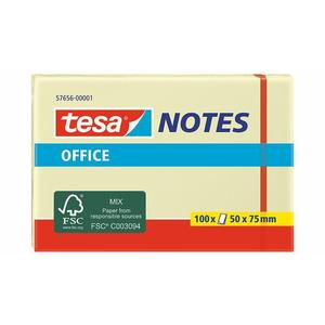 Tesa Office Notes 50x75mm gelb 100 Blatt