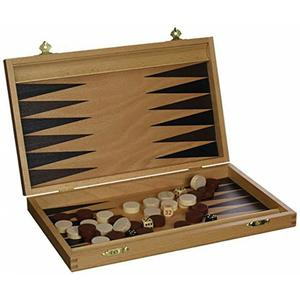 Backgammon Kassette Buche