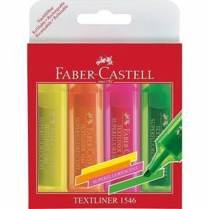 Faber Castell Textliner 1-5mm 4 Farben