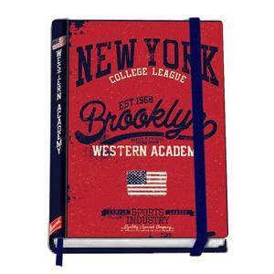 Notizbuch A5/96 Seiten kariert New York