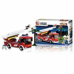 Sluban Fire Feuerwehr Drehleiter